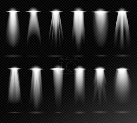 Projection lights sources