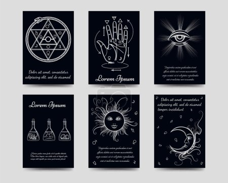 Alchemy and isoteric cards set