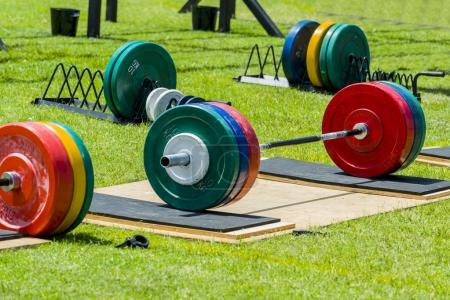 Barbell weight gym equipment