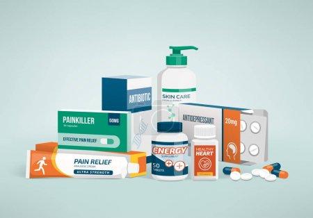 Healthcare, medicine and drug types