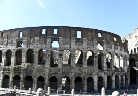 The grandeur of the Colosseum of Rome, the most be...