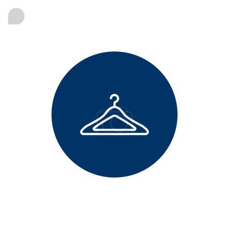 empty clothing hanger icon