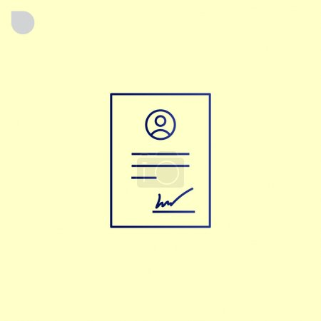 business contract icon