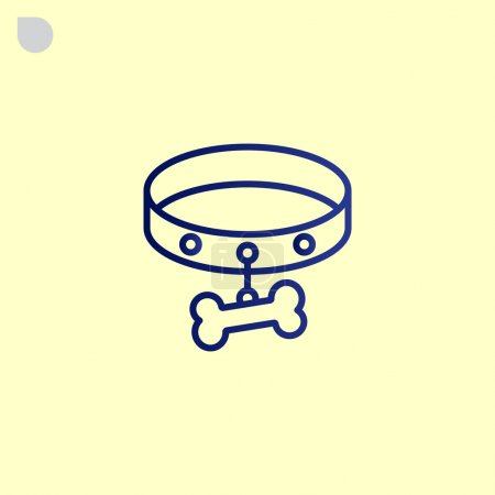 Dog collar icon