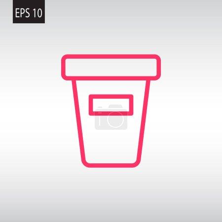 bucket web icon