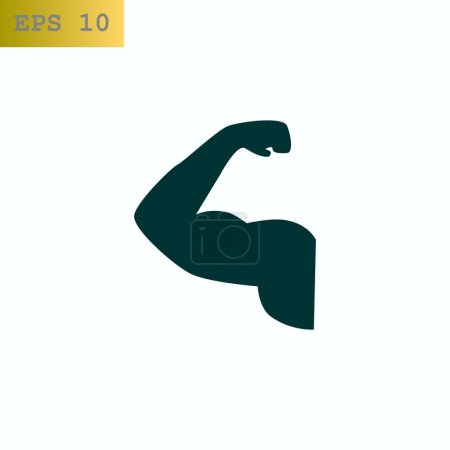 muscles web icon