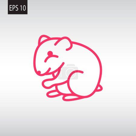 Hamster web icon