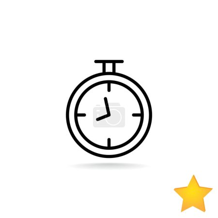 mechanical stopwatch icon