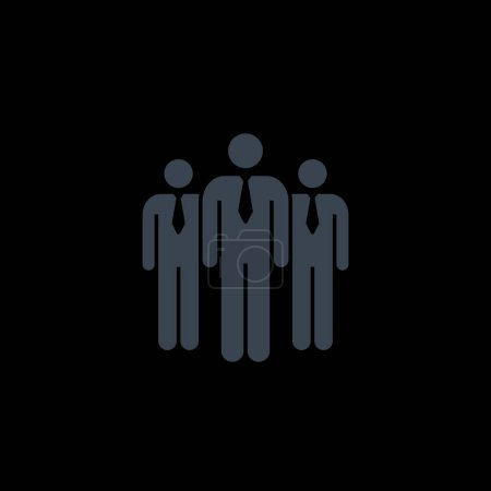 Employees simple icon