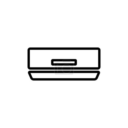 air conditioner simple icon