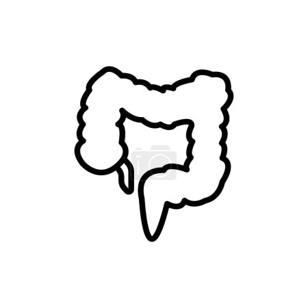 large intestine icon