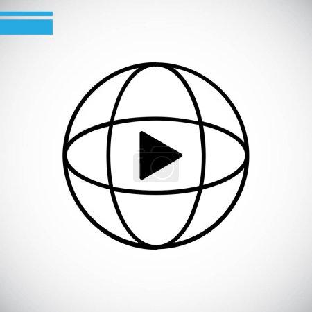 video player web icon