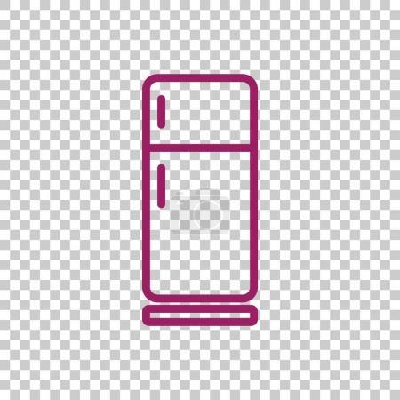 fridge line icon
