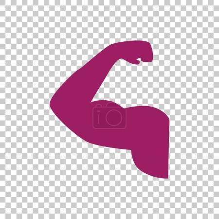 bicep icon  illustration