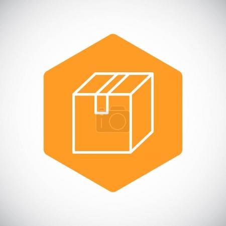 design of  box icon
