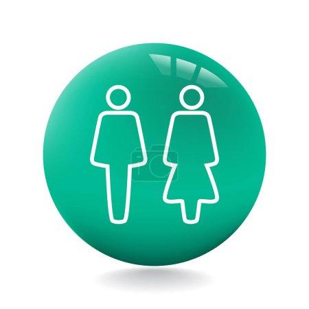 design of human icon