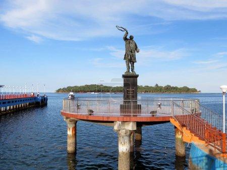 Statue of Rajiv Gandhi and