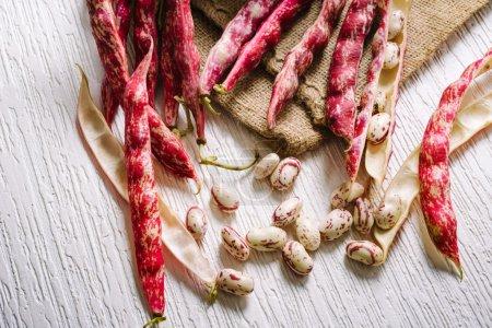 red peel beans