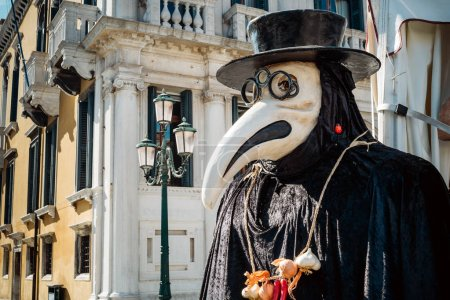 Maske des venezianischen Arztes
