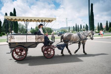 Carriage for transport of tourists
