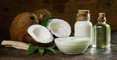 fresh nutritious coconut