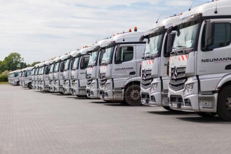 german Mercedes Benz Actros trucks