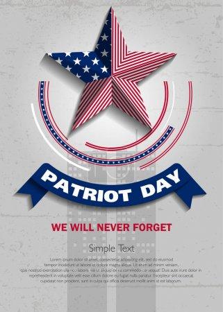 Patriot day background