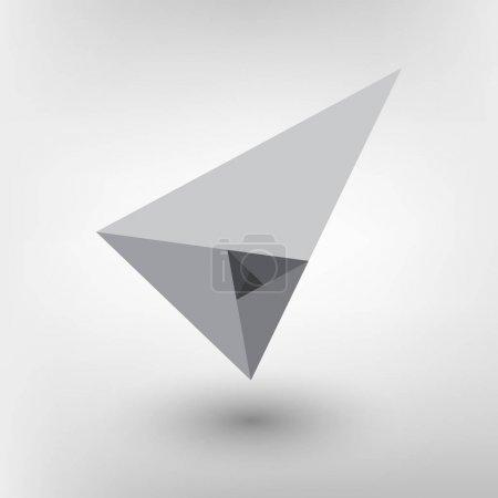 Minimalistic style design Golden ratio. Futuristic design. Geometric shapes