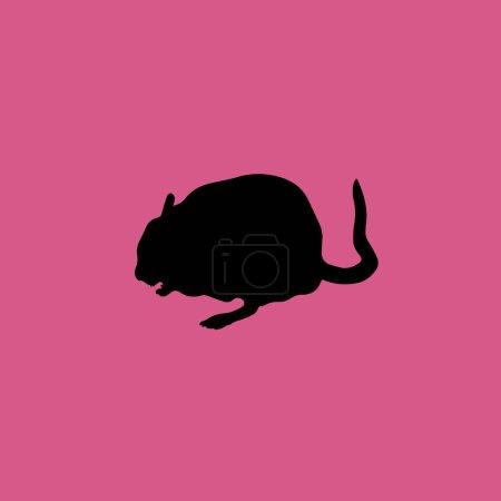 Illustration for Chinchilla icon illustration isolated vector sign symbol - Royalty Free Image