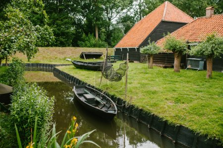 Old House, boat and Glade