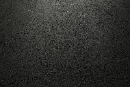 Foto de Asfalto negro, textura de fondo, objetos abstractos, interesante diseño, elemento de diseño, concepto de diseño y decoración, de cerca - Imagen libre de derechos