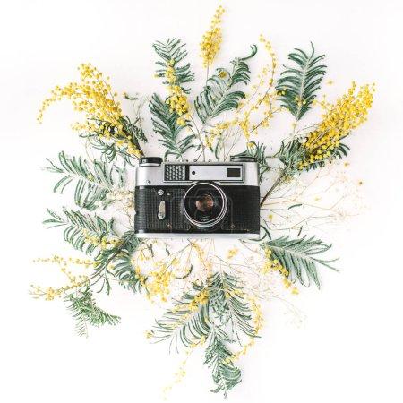 Vintage retro photo camera