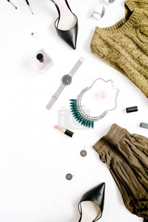 Female clothes and accessories