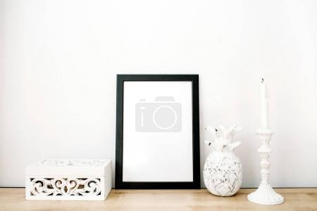 photo frame with pineapple and trendy stuff