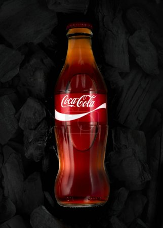 Coca-cola in Glass bottle