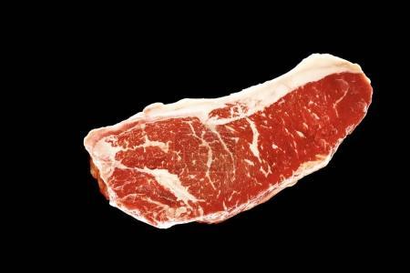 raw beef marble steak