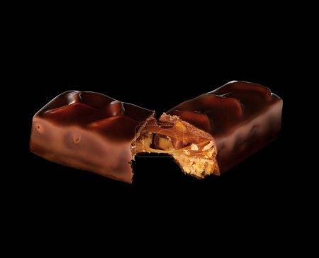 Tasty chocolate split bar