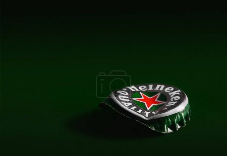 Cap of beer Heineken beer