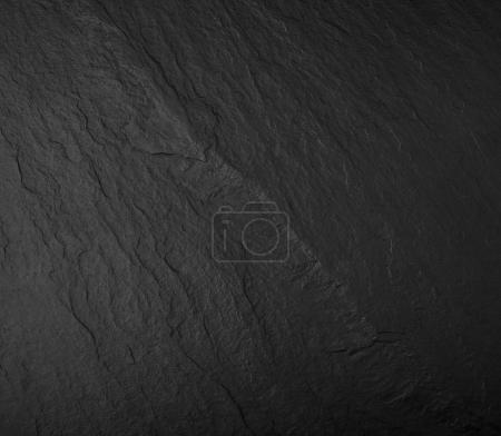 Photo for Rugged and rough dark stone texture - Royalty Free Image