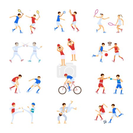 Athletes Kids set