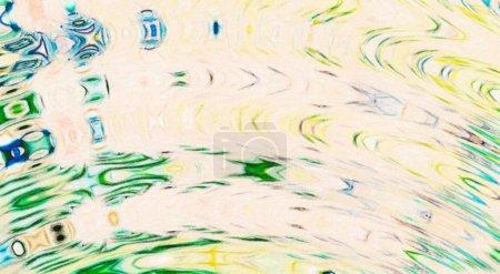 Foto de Fondo de textura de pintura al óleo abstracto. Arte de pared. Acción. El impresionismo y el expresionismo mezclaban el estilo de los medios. Telón de fondo de color. Golpes y salpicaduras caóticos. Abstracción dibujada a mano. Elemento de acuarela - Imagen libre de derechos