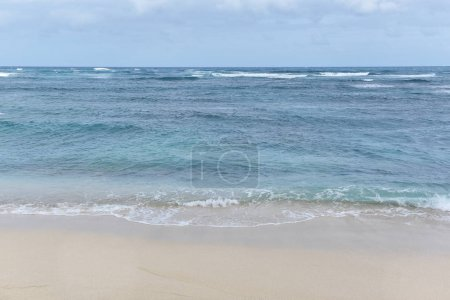Photo for Bright blue sea against blue sky - Royalty Free Image