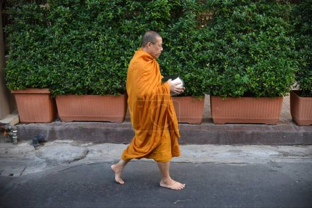 Photo for The monk in the temple - Royalty Free Image
