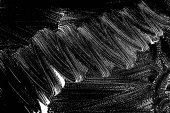 Grunge soap texture black and white Distress black and white rough foam trace gorgeous background