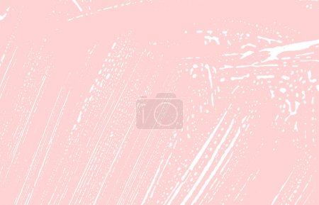Illustration for Grunge texture. Distress pink rough trace. Glamorous background. Noise dirty grunge texture. Good-looking artistic surface. Vector illustration. - Royalty Free Image