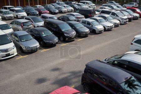 Parking lots in Kuala Lumpur