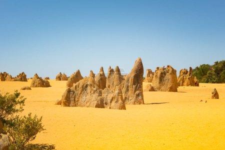 Pinnacles at Namburg National Park, Cervantes, Wes...