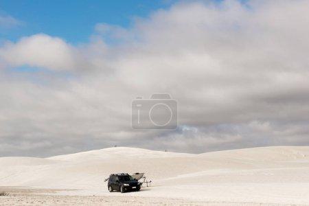 Dune driving at the Lancelin dunes