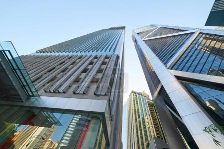 Glass city buildings in Kuala Lumpur