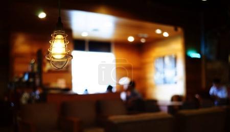 Hanging retro lamp
